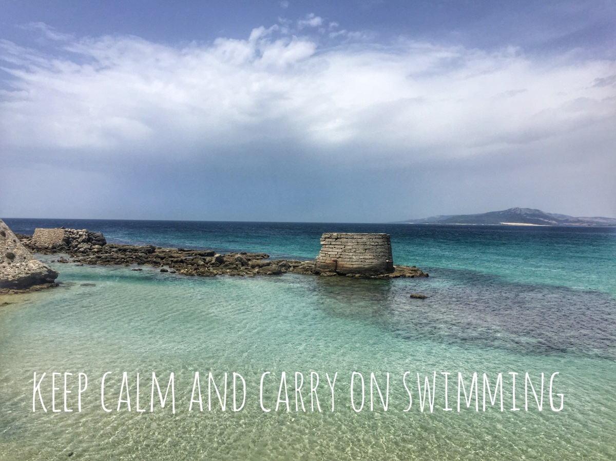 Tarifa, keep calm and carry on swimming